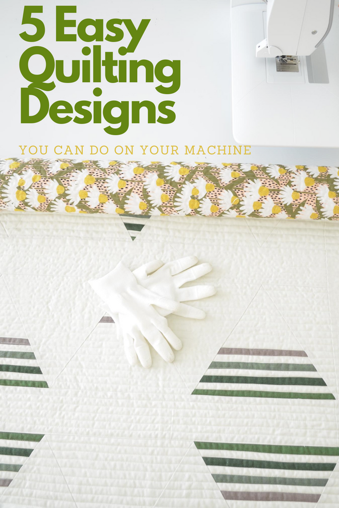 Five Easy Quilting Designs