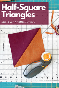 Make Eight Half-Square Triangles