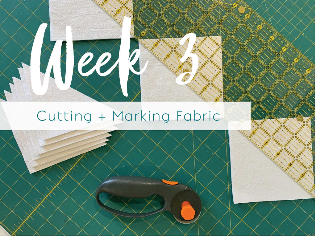 Italian Tiles Sew Along: Week 3