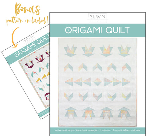 Origami Quilt Pattern