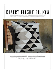 Desert Flight Pillow Pattern
