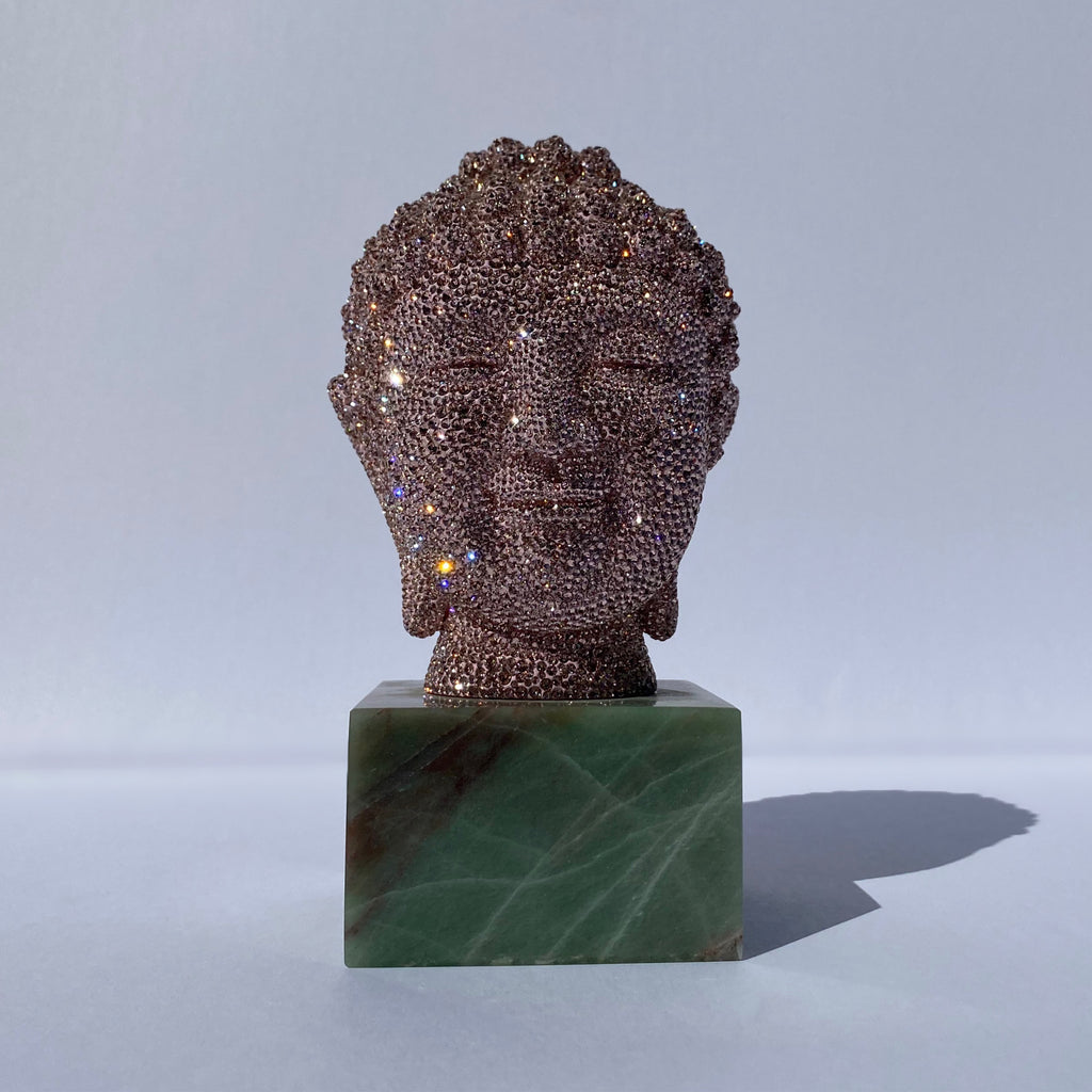 Buddha Head (Vintage Rose), 2014