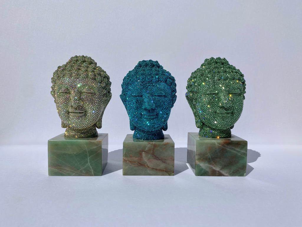 Buddha Head (Erinite), 2014