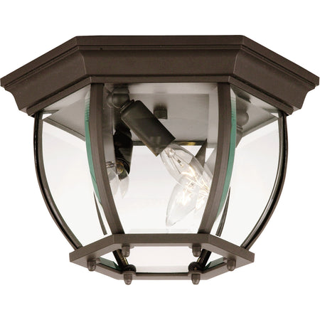 Nuvo Lighting Brentwood LED 8 inch White Outdoor Caged Lantern