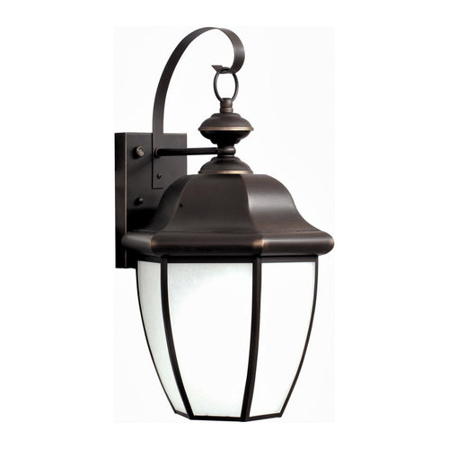 Forte Lighting Signature 1 Light 10 inch Royal Bronze Outdoor Lantern