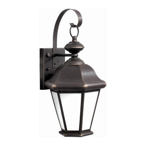 Forte Lighting Signature 1 Light 9 inch Royal Bronze Outdoor Lantern