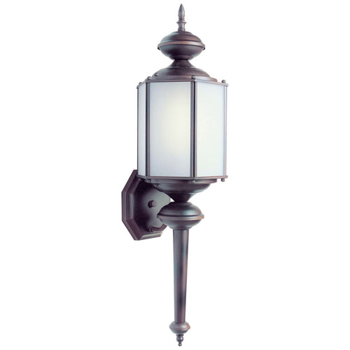 Forte Lighting Signature 1 Light 7 inch Antique Bronze Outdoor Lantern
