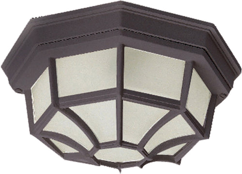 Maxim Lighting 1020RP Crown Hill 2 Light 12 inch Rust Patina Outdoor Ceiling Mount