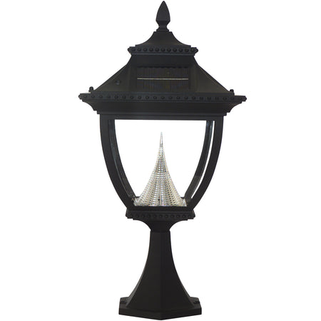 Dimond Lighting Sloan 25 inch 100 watt Brown/Grey/Antique White Outdoor Table Lamp