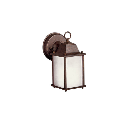 Kichler Lighting 10923TZ Signature 1 Light 9 inch Tannery Bronze Fluorescent Outdoor Wall Lantern