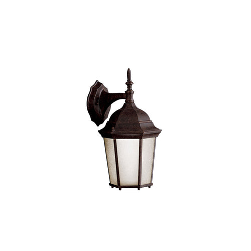 Kichler Lighting Madison 1 Light 15 inch Tannery Bronze Fluorescent Outdoor Wall Lantern