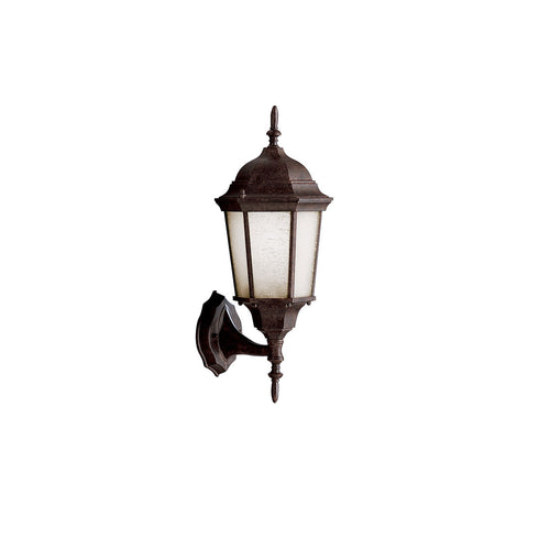 Kichler Lighting 10953TZ Madison 1 Light 20 inch Tannery Bronze Fluorescent Outdoor Wall Lantern