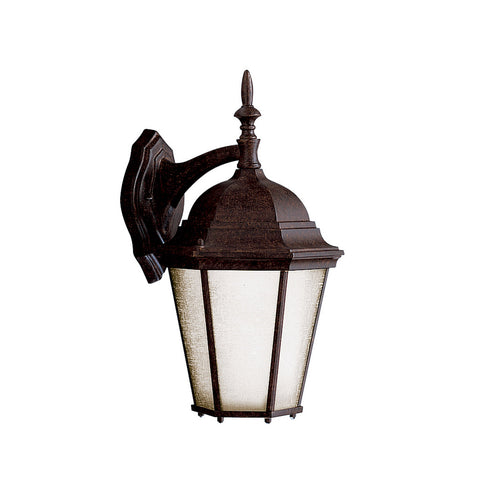 Kichler Lighting 10954TZ Madison 1 Light 17 inch Tannery Bronze Fluorescent Outdoor Wall Lantern
