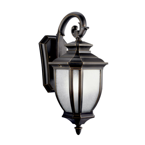 Kichler Lighting 11002RZ Salisbury 1 Light 19 inch Rubbed Bronze Fluorescent Outdoor Wall Lantern