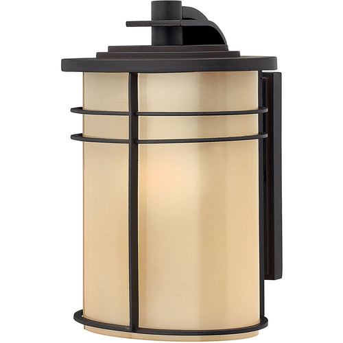 Hinkley Lighting 1120MR Ledgewood 1 Light 11 inch Museum Bronze Outdoor Wall Mount in Incandescent