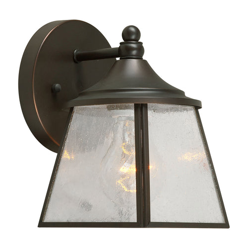 Forte Lighting Signature 1 Light 5 inch Royal Bronze Outdoor Lantern