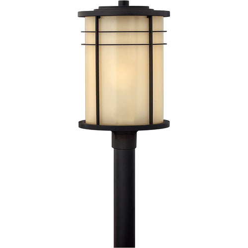 Hinkley Lighting Ledgewood 1 Light 21 inch Museum Bronze Outdoor Post Mount Post Sold Separately