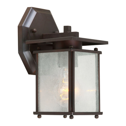 Forte Lighting Signature 1 Light 5 inch Antique Bronze Outdoor Lantern