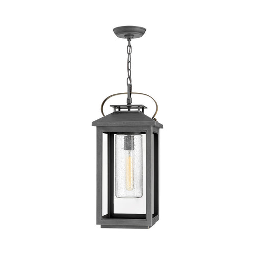 Hinkley Lighting Atwater 1 Light 10 inch Ash Bronze Outdoor Hanging Coastal Elements