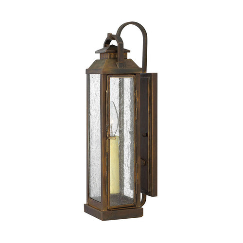 Hinkley Lighting Revere 1 Light 17 inch Sienna Outdoor Wall Mount