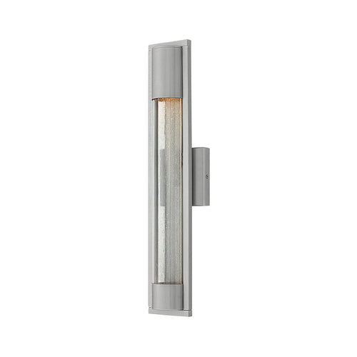 Hinkley Lighting Mist 1 Light 22 inch Titanium Outdoor Wall Mount