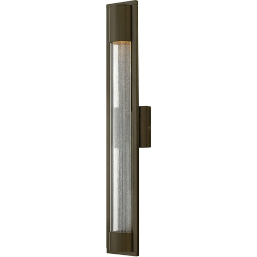 Hinkley Lighting Mist 1 Light 29 inch Bronze Outdoor Wall Mount