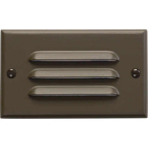 Kichler Lighting Step and Hall Lights Architectural Bronze Indoor Step Light LED 4.5 inch