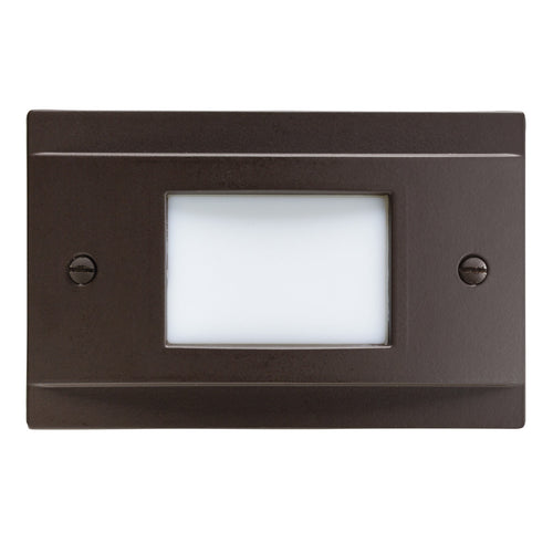 Kichler Lighting Step and Hall Lights 120V 1 watt Architectural Bronze Indoor Step Light LED 2.00 inch