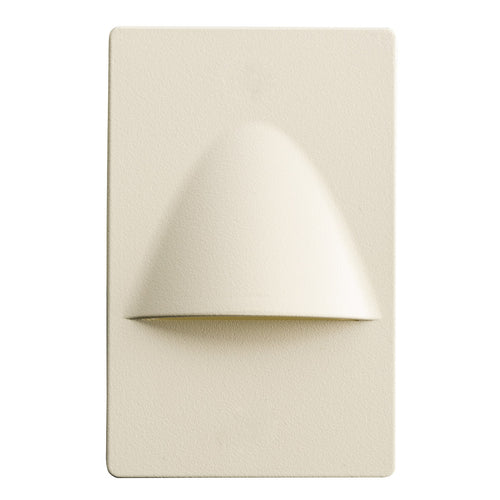 Kichler Lighting Step and Hall Light 120V 1.29 watt Almond Steplight LED 5 inch