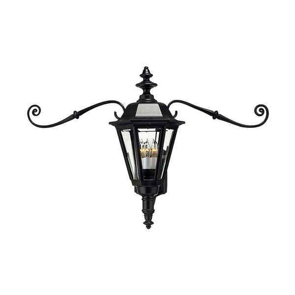 Hinkley Lighting Manor House 1 Light 23 inch Black Outdoor Wall Mount