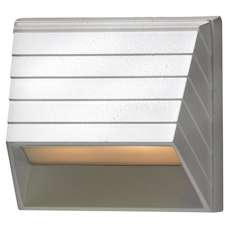 ET2 Contemporary Lighting Alumilux Pathway 2.00 watt Satin Aluminum Outdoor Step Light