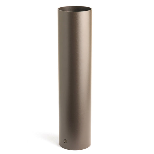 Kichler Lighting 15665AZT Landscape 12V Textured Architectural Bronze Landscape Bollard Kit