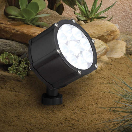 Kichler Lighting 15752BKT Landscape 12V 12V Textured Black Landscape Accent Light