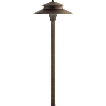Kichler Lighting Narelle 2 Light 15 inch White Outdoor Wall Light