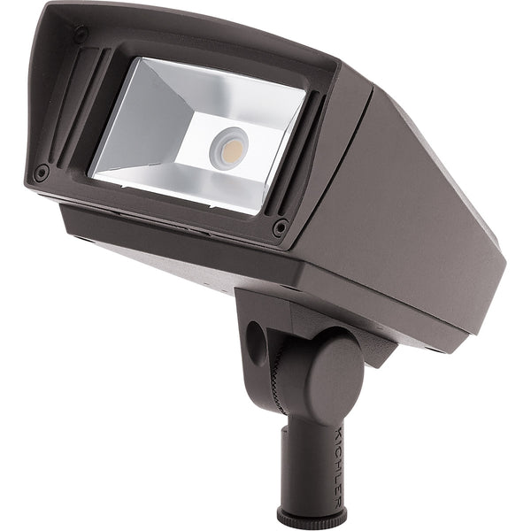 Kichler Lighting Signature LED 7 inch Textured Architectural Bronze Flood Light