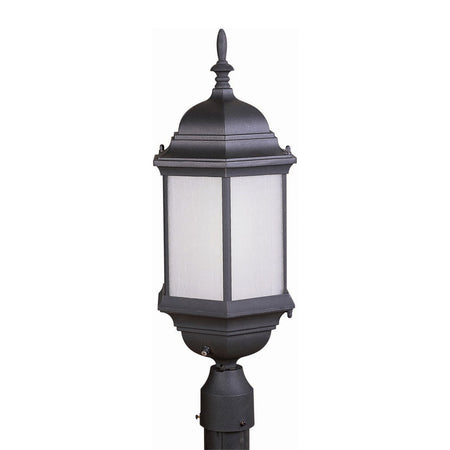 Trans Globe Lighting Wentworth 1 Light 21 inch White Outdoor Postmount Lantern