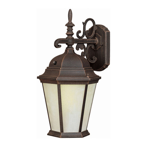 Forte Lighting Signature 1 Light 8 inch Painted Rust Outdoor Lantern