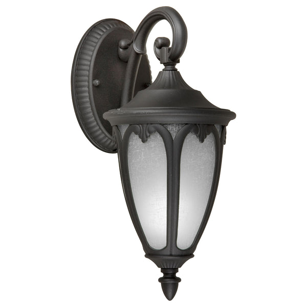 Forte Lighting Signature 1 Light 6 inch Black Outdoor Lantern