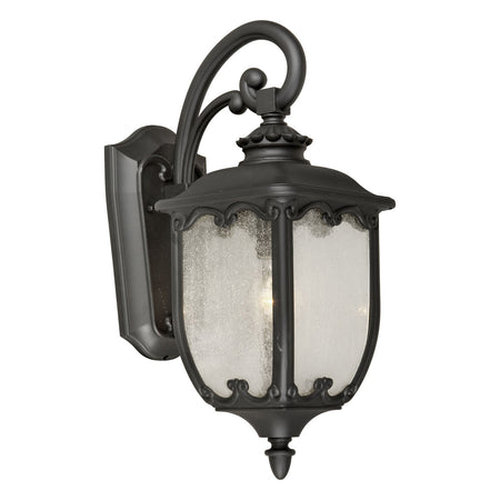 Forte Lighting Signature 1 Light 7 inch Rustic Sienna Outdoor Lantern