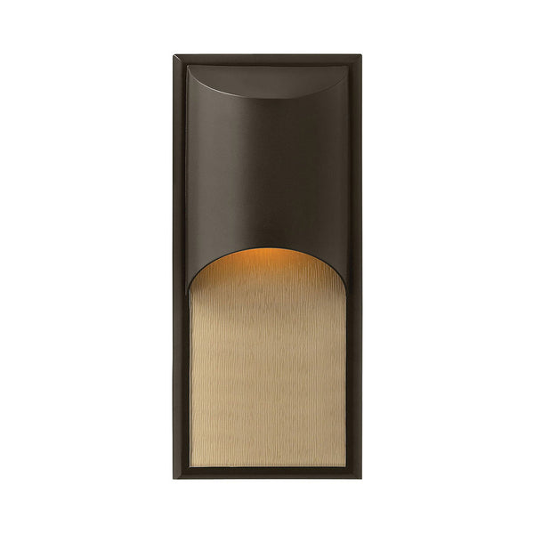 Hinkley Lighting Cascade LED 18 inch Bronze Outdoor Wall Mount