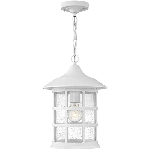 Hinkley Lighting Coastal Elements Freeport 10 inch Textured White Outdoor Hanging