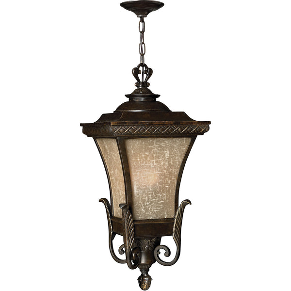 Hinkley Lighting 1932RB Brynmar 1 Light 12 inch Regency Bronze Outdoor Hanging Light in Incandescent