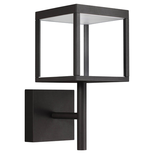 Access Lighting 20080LED-BL/CLR Reveal LED 15 inch Black Outdoor Wall Sconce