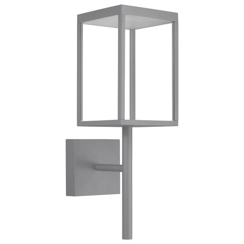 Access Lighting 20081LED-SG/CLR Reveal LED 22 inch Satin Gray Outdoor Wall Sconce