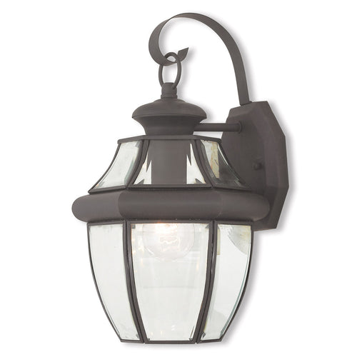 Livex 20282-07 Monterey 1 Light 13 inch Bronze Outdoor Wall Lantern