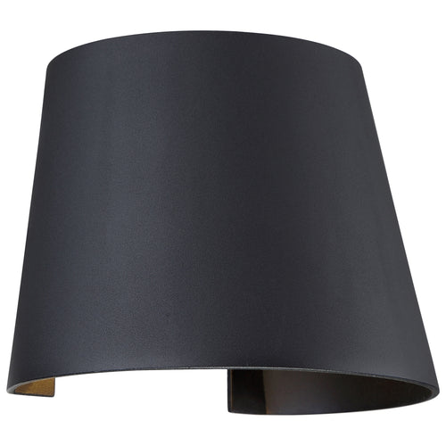 Access Lighting 20399LEDMGCNE-BL Cone LED 6 inch Black Wall Washer