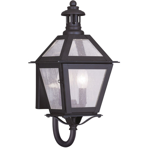 Livex 2040-07 Waldwick 2 Light 16 inch Bronze Outdoor Wall Lantern