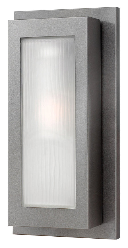 Hinkley Lighting Taper LED 15 inch Textured Oil Rubbed Bronze Outdoor Wall Mount