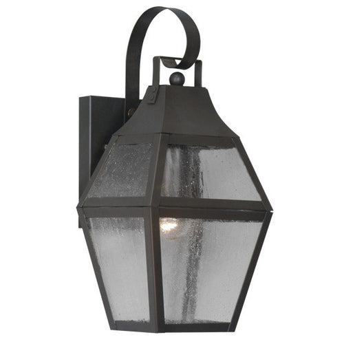 Livex 2080-07 Augusta 1 Light 14 inch Bronze Outdoor Wall Lantern