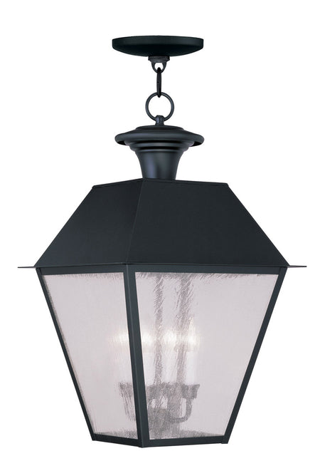 Quoizel Ellington 1 Light 10 inch Statuary Bronze Outdoor Hanging Lantern